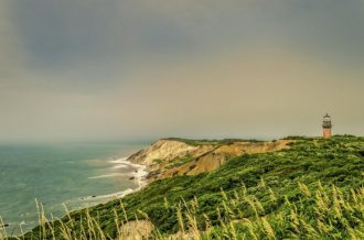 Martha`s Vineyard Island at Cape Cod, nice place to spend summer around MA in USA.